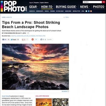 Pop Photo article about Scott Mead