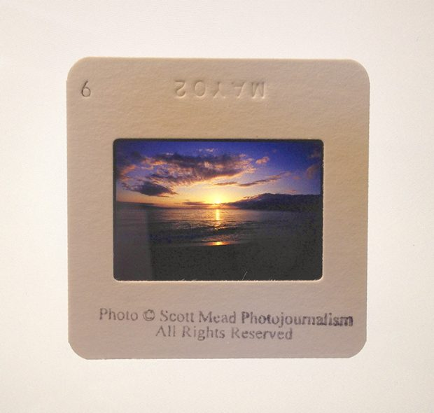 Slide of Airport Beach on Maui