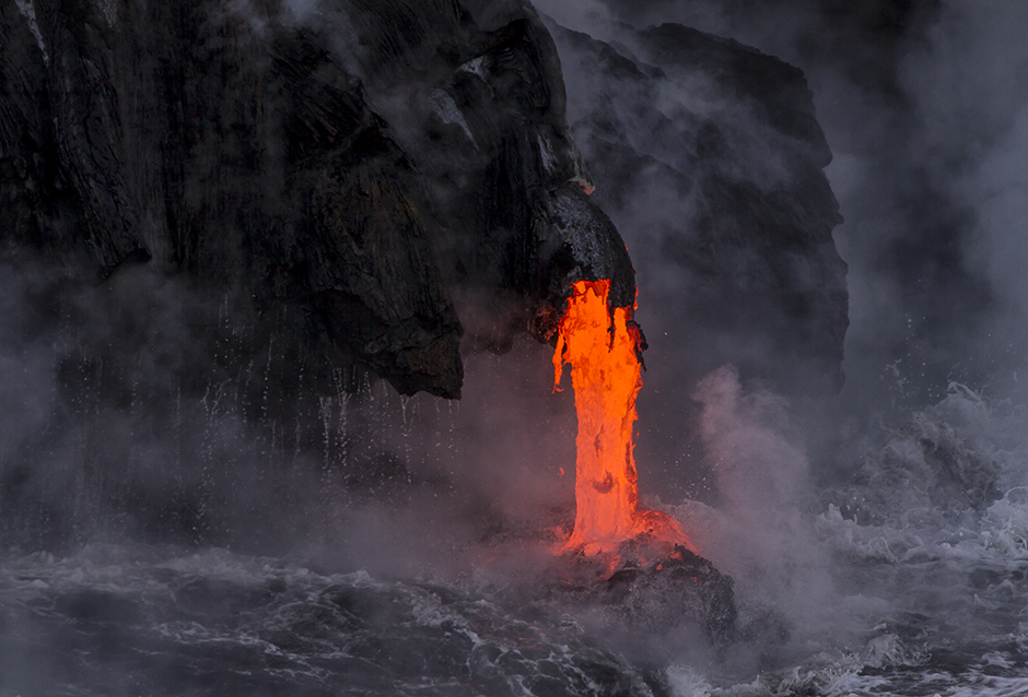 Volcano and Lava | Scott Mead Photogaphy