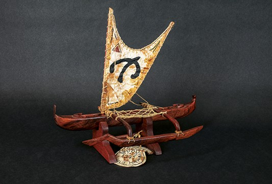 Hawaiian War Canoe Product Image