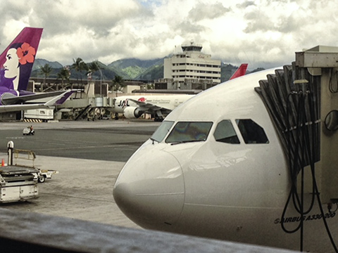 HNL to JFK