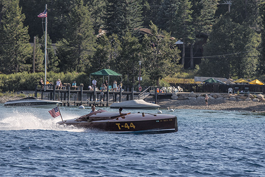 Race Boat on Lake Tahoe