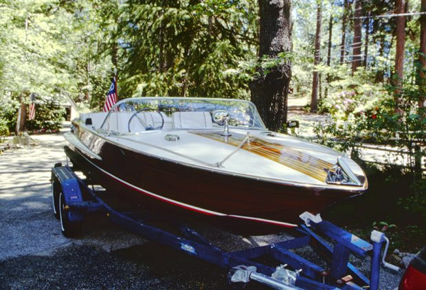 1964 Chris Craft, ready for the water