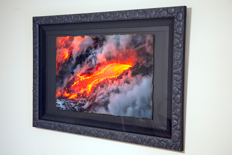 Pahoehoe Hakena 24x36 Burned Sugar Cane | Scott Mead Photography