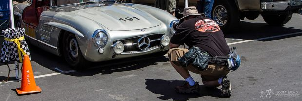Capturing the Classic Lines of a '55 Mercedes-Benz Gullwing