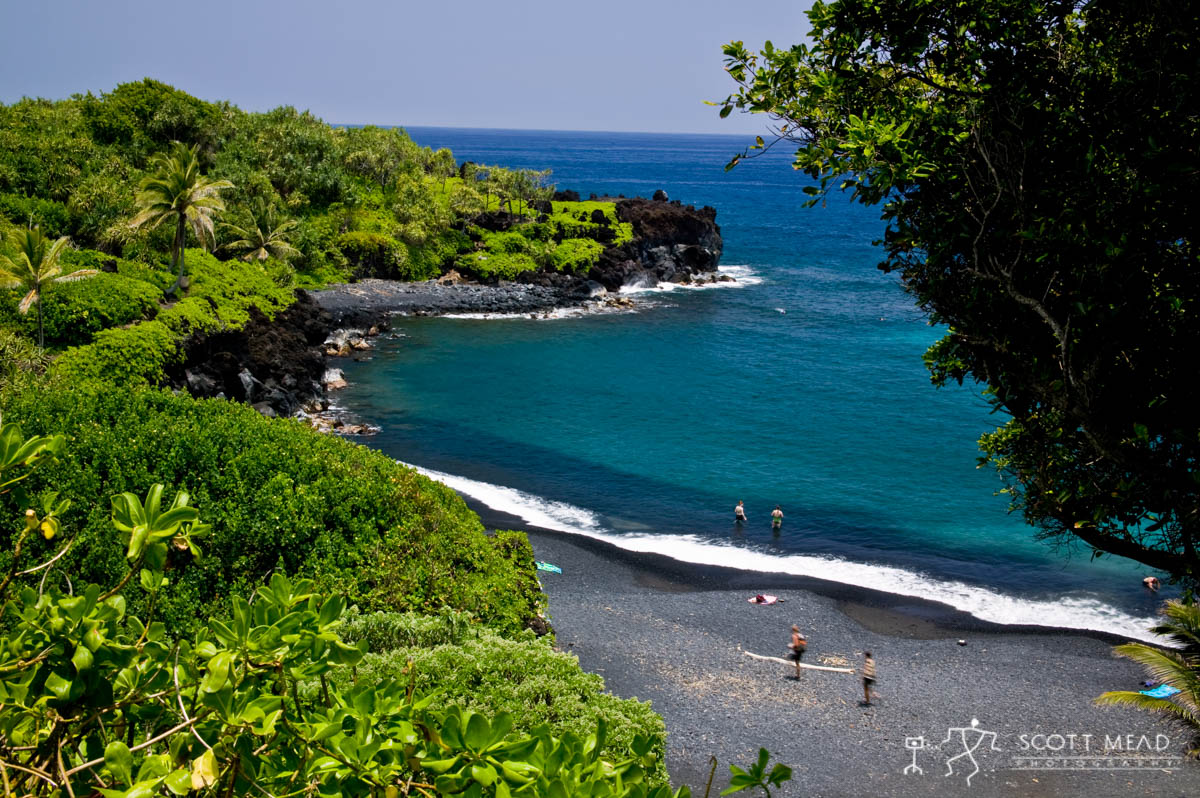Scott Mead Photography | Black Sand Beach 1