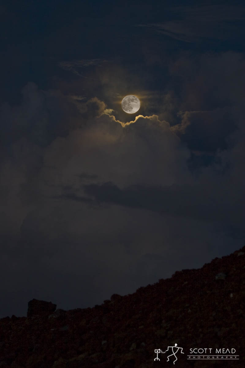 Scott Mead Photography | Haleakala Moon