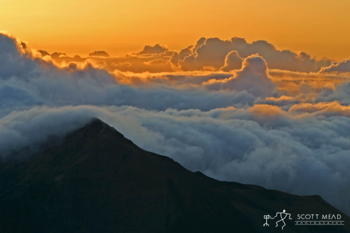 Scott Mead Photography | Haleakala Sunset
