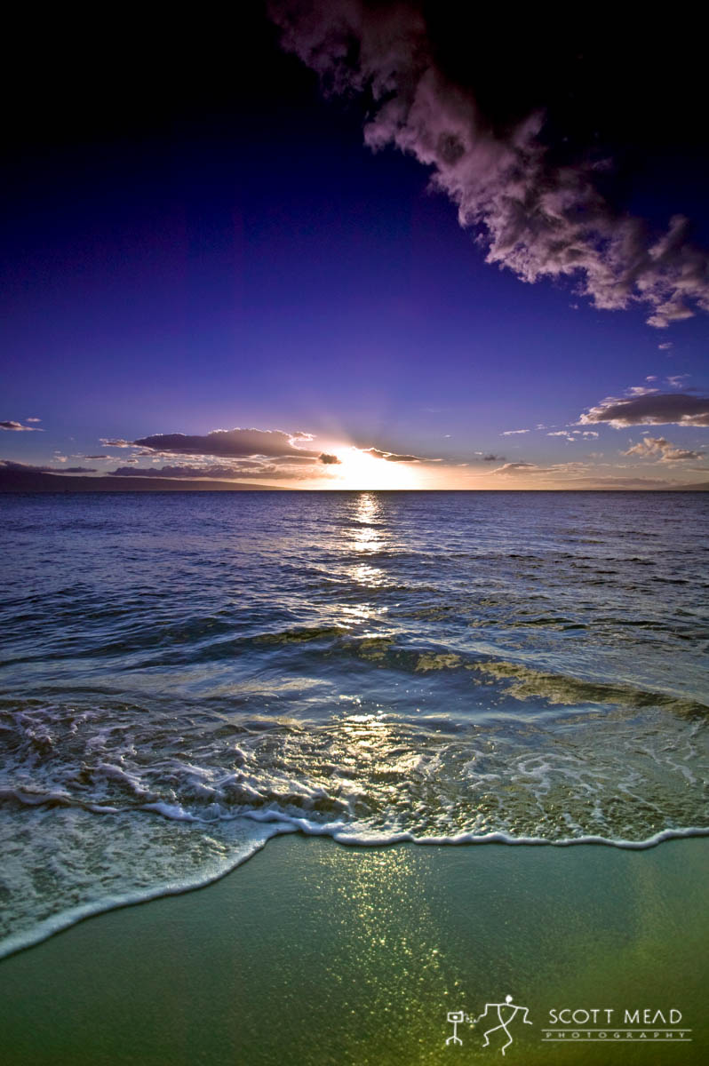 Scott Mead Photography | Maui Sunset 1