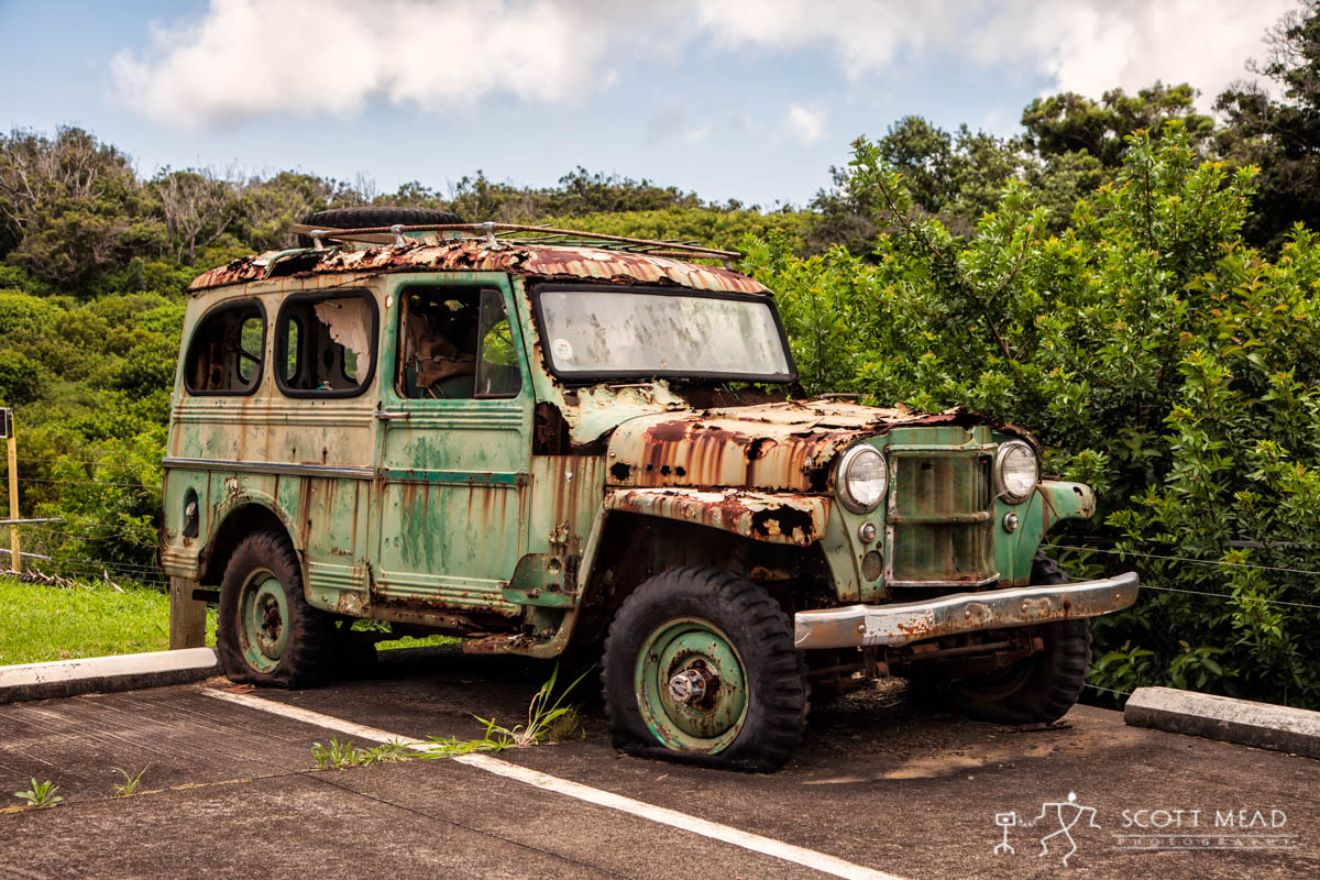 Scott Mead Photography | Molokai Jeep