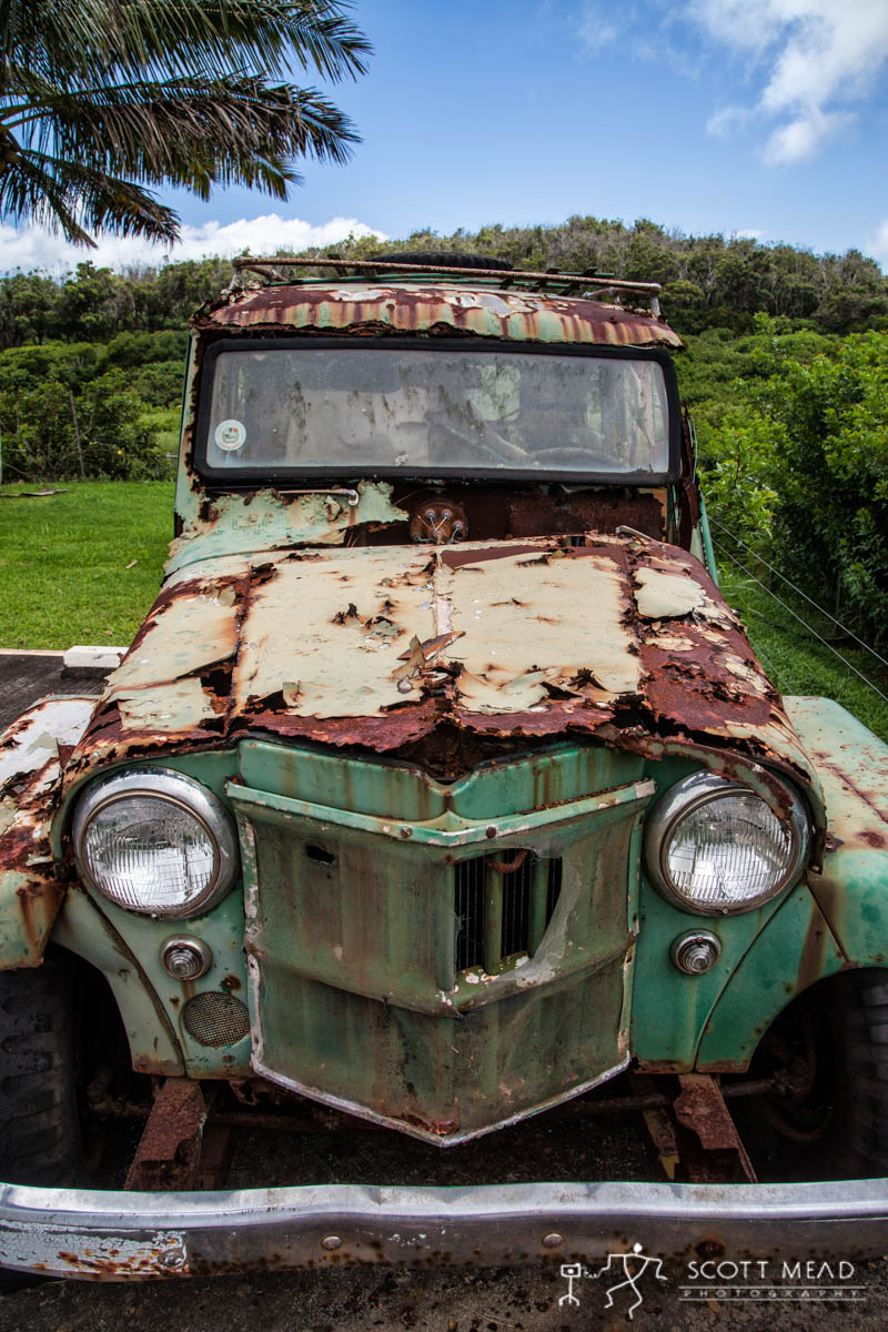 Scott Mead Photography | Molokai Jeep 3