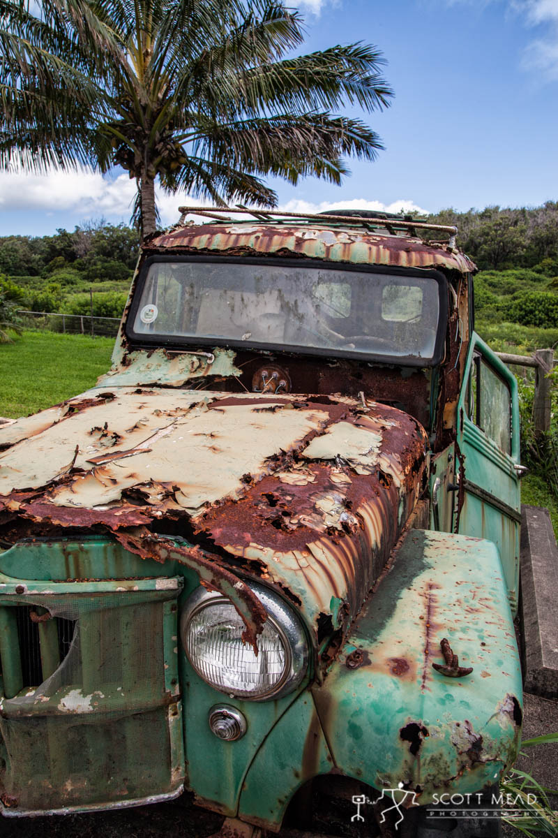 Scott Mead Photography | Molokai Jeep 5