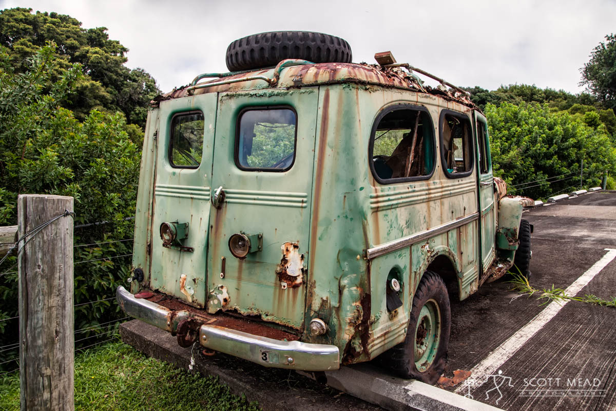 Scott Mead Photography | Molokai Jeep 8