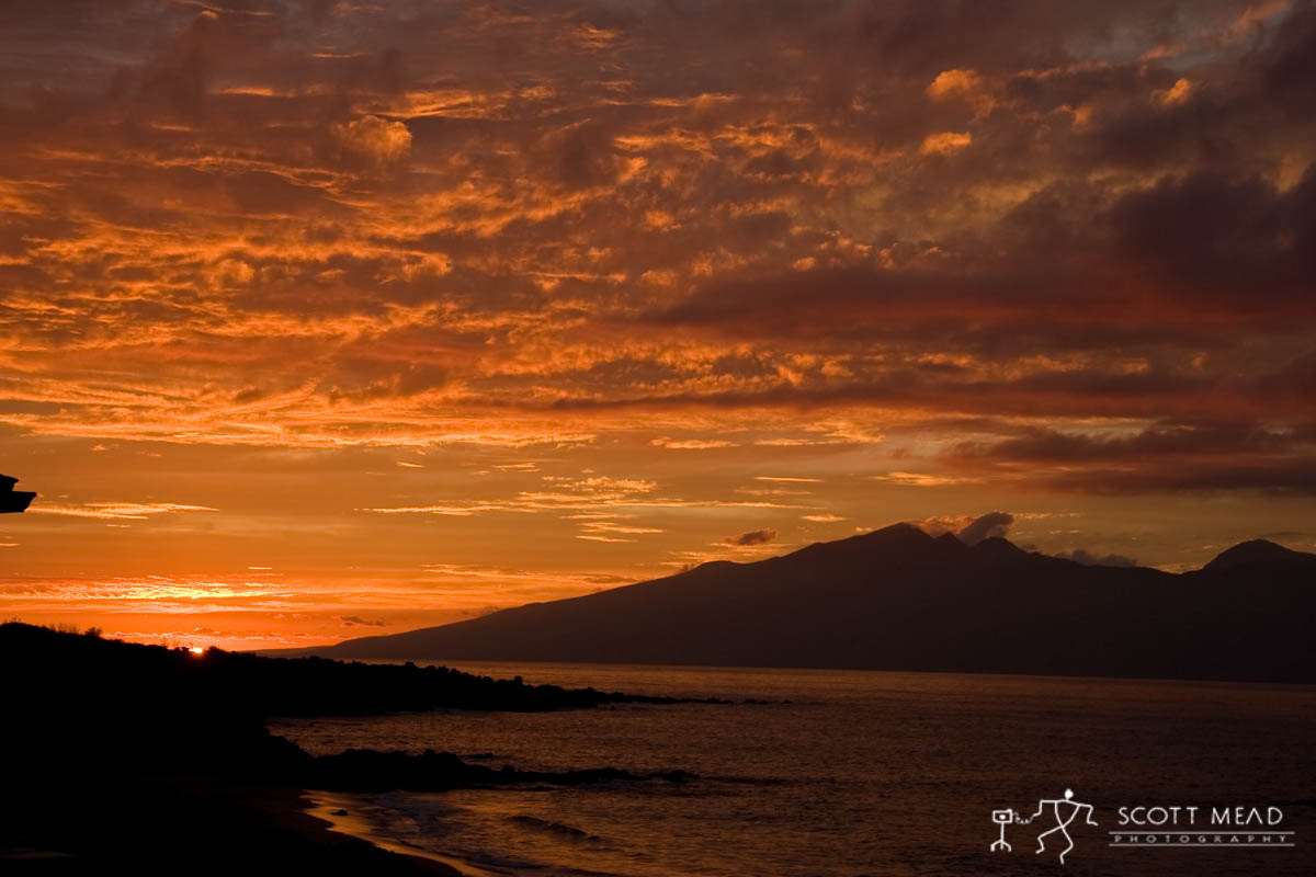 Scott Mead Photography | Molokai Sunset