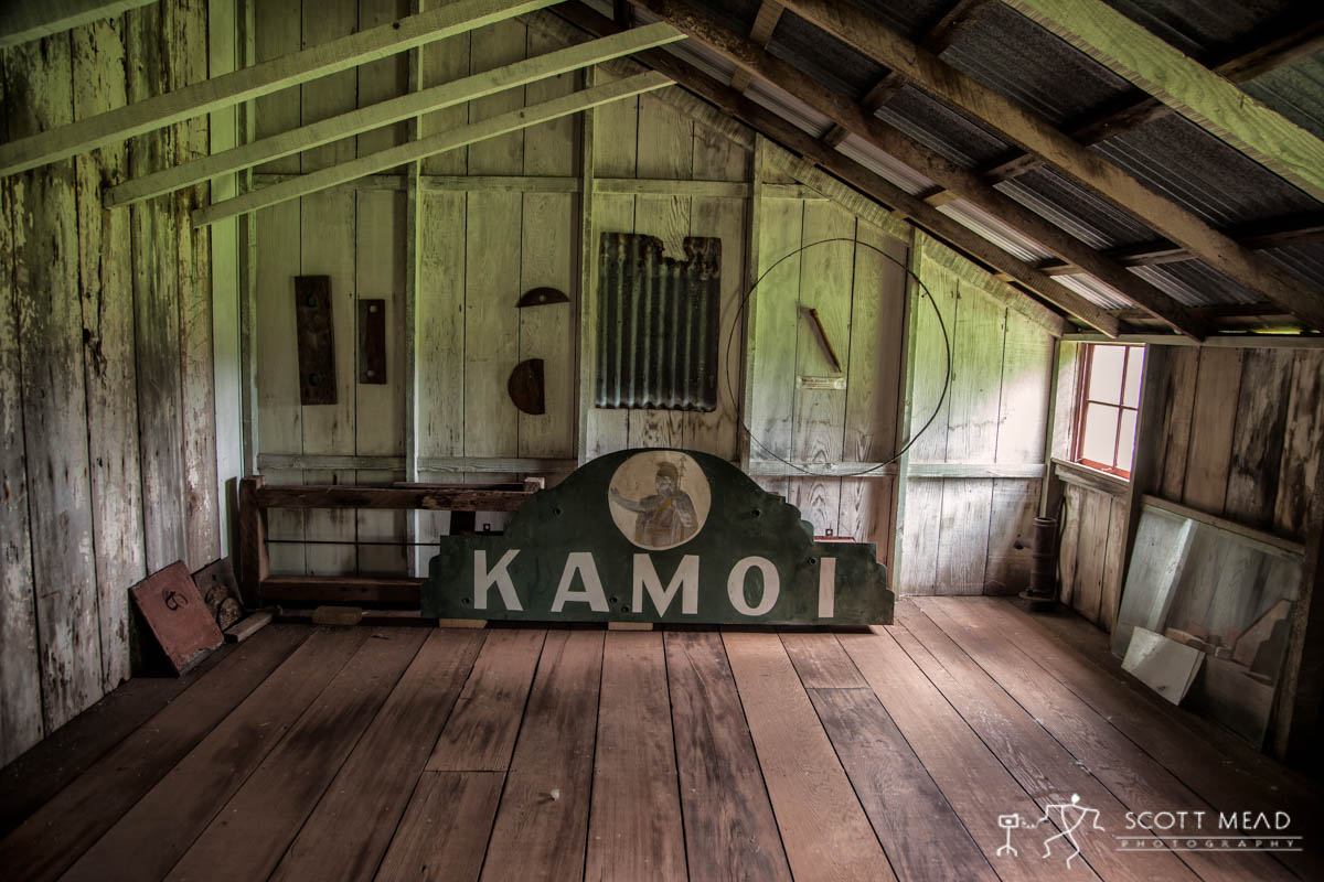 Scott Mead Photography | Molokai Theater Sign