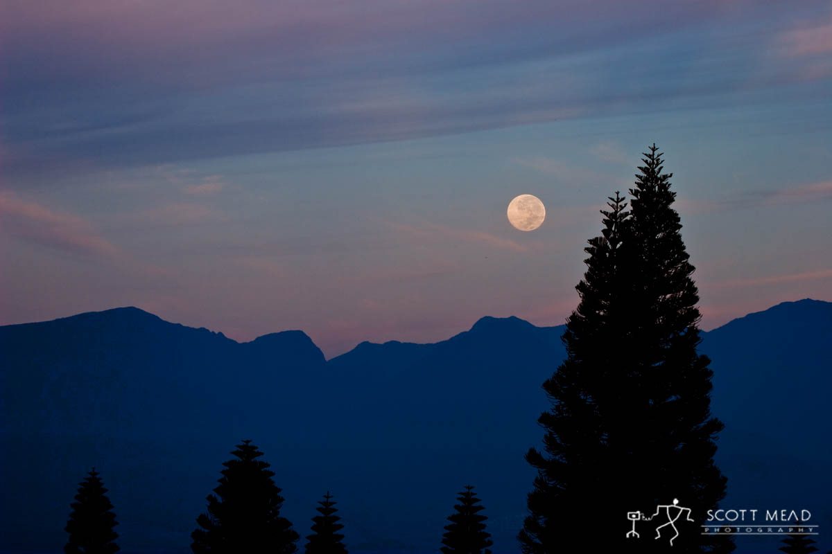 Scott Mead Photography | Moonset over Puu Kukui