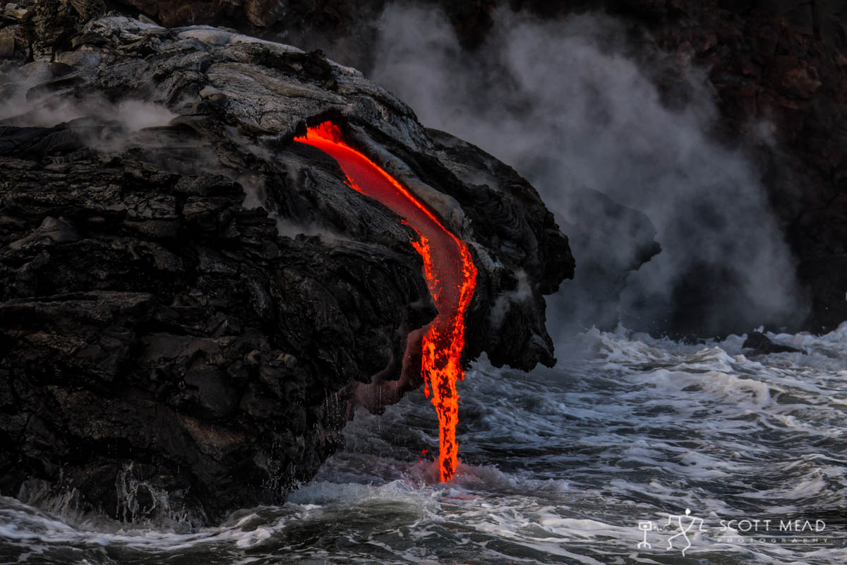 Scott Mead Photography | Streaming Lava