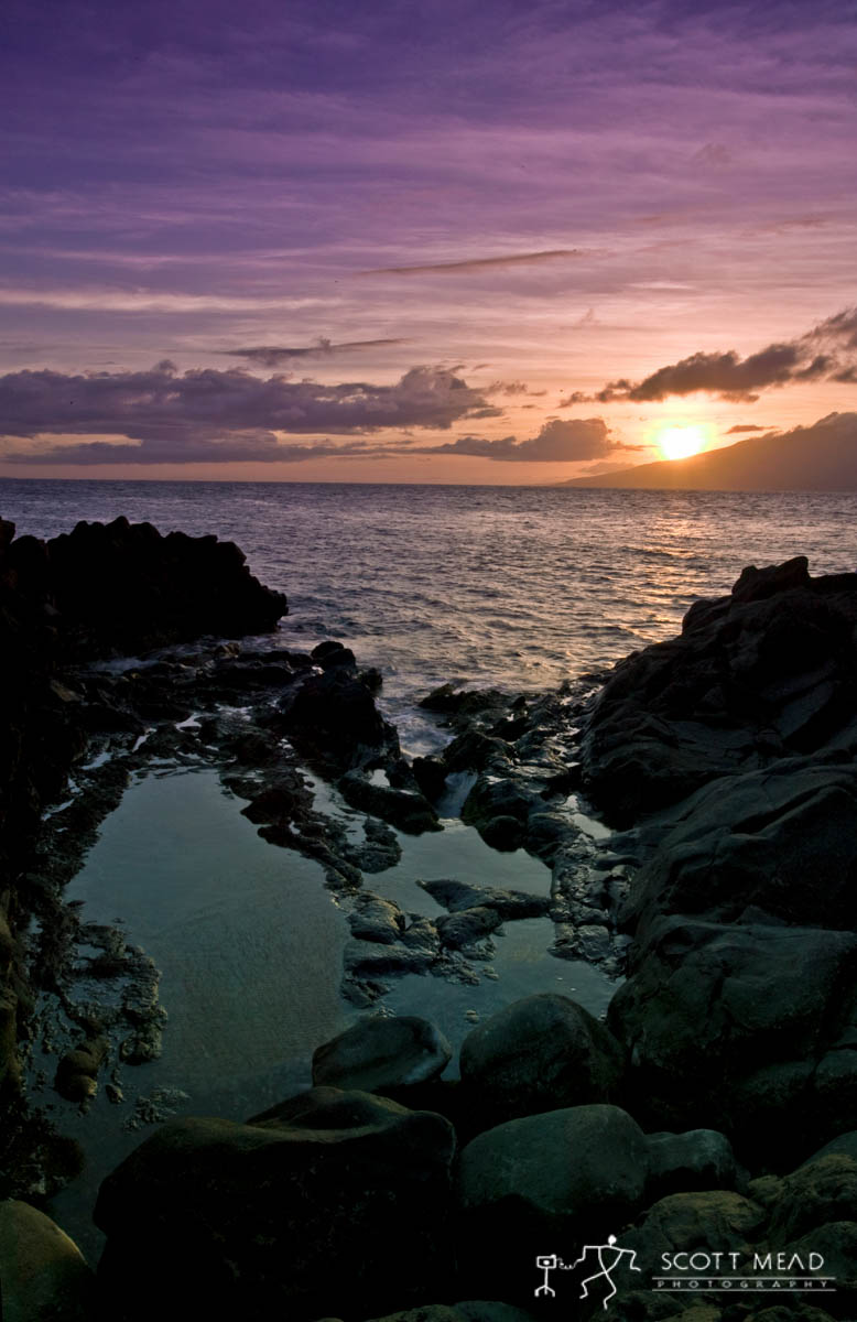 Scott Mead Photography | Tide Pool Sunset