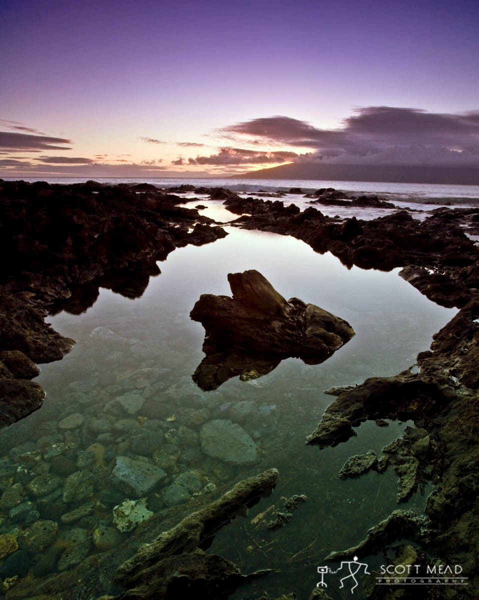 Scott Mead Photography | Twilight Tide Pools