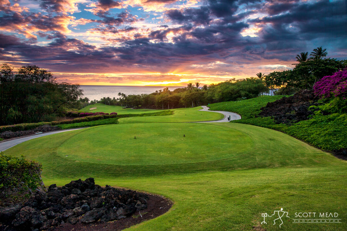 Scott Mead Photography | Wailea Emerald Tee