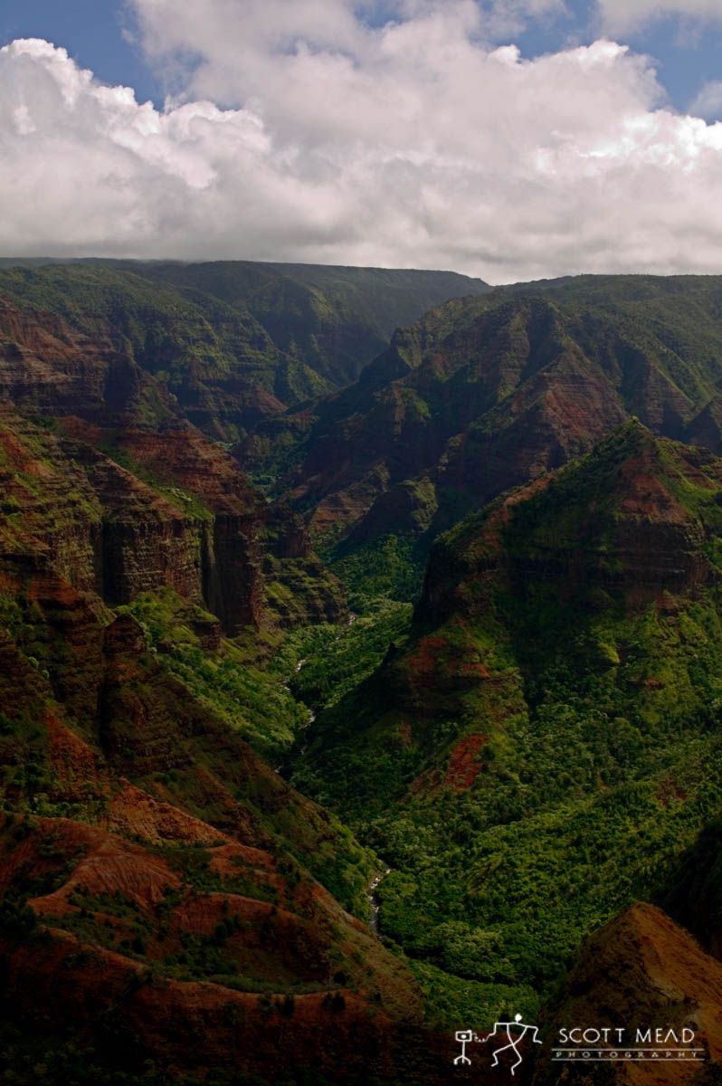 Scott Mead Photography | Waimea Canyon 1
