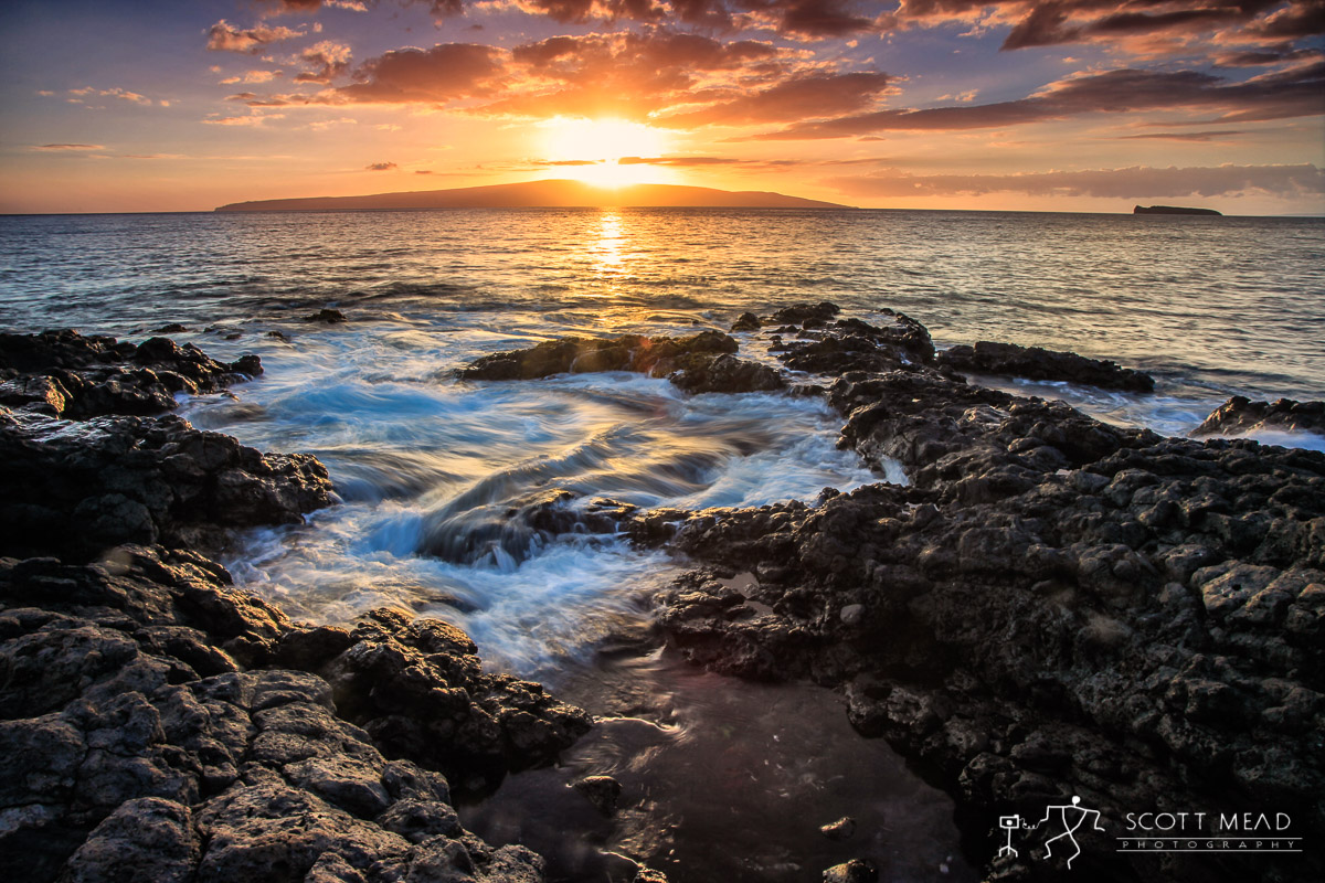 Scott Mead Photography | Kahoolawe Sundown