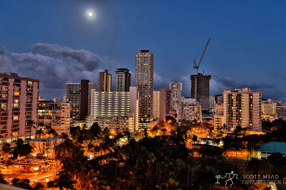 Scott Mead Photography | Waikiki Skyline
